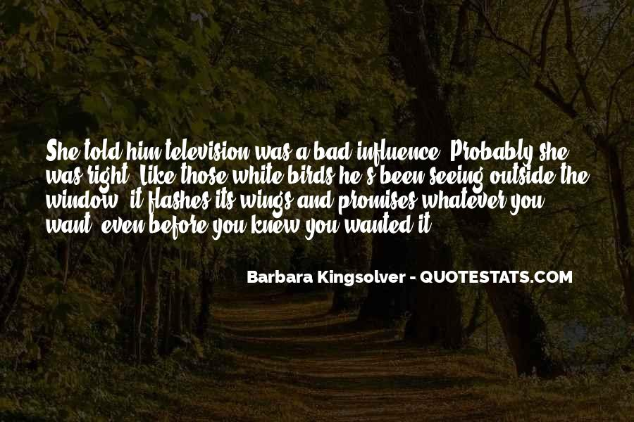 Quotes About Influence Of Tv #766859