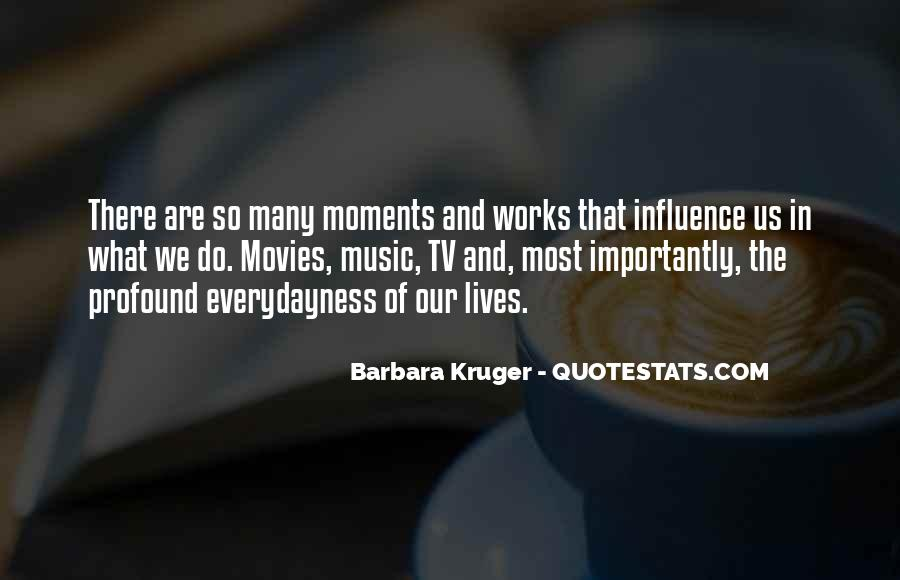Quotes About Influence Of Tv #766915