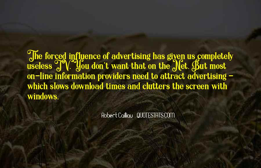 Quotes About Influence Of Tv #884278