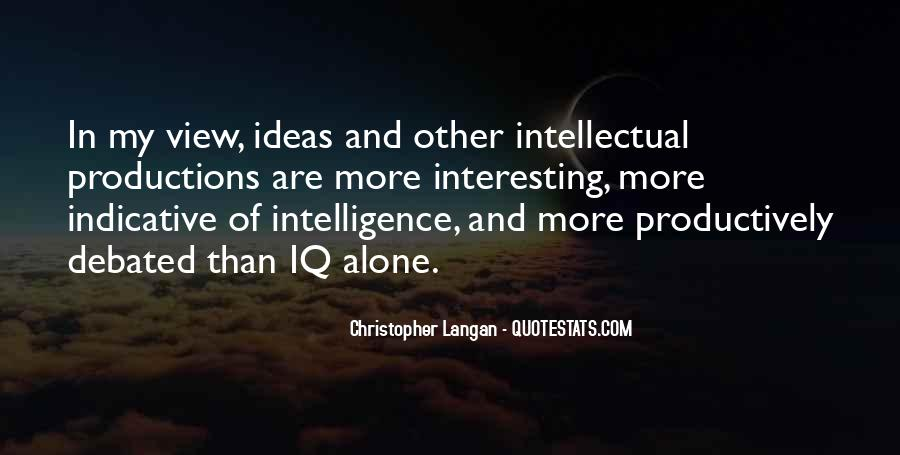 Quotes About Iq And Intelligence #1269353