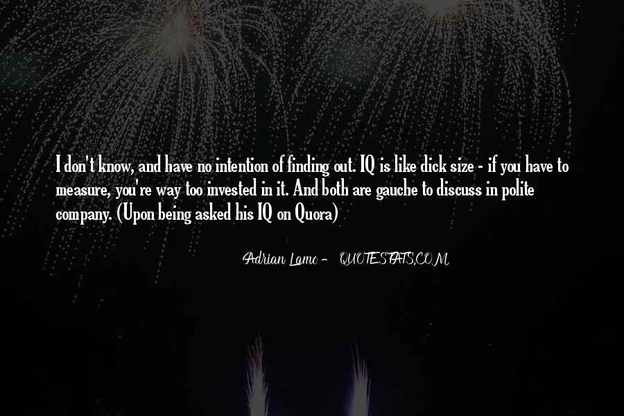 Quotes About Iq And Intelligence #1637163