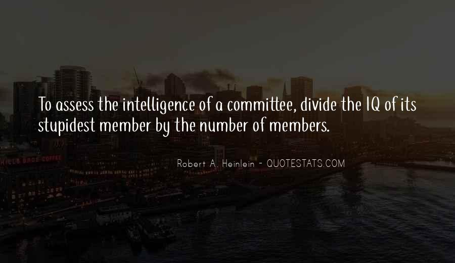 Quotes About Iq And Intelligence #292059