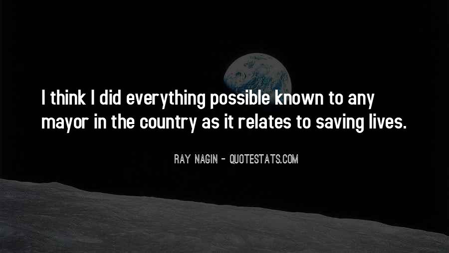 Quotes About Saving Our Country #829684