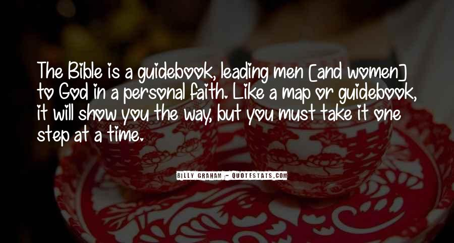 Quotes About God Leading You #1793647