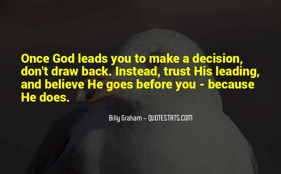 Quotes About God Leading You #329974
