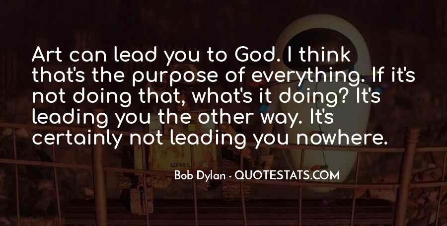 Quotes About God Leading You #775123