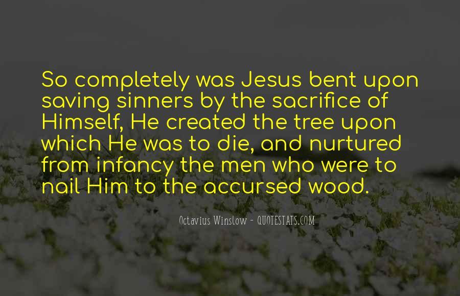 Quotes About Jesus Sacrifice #1017032