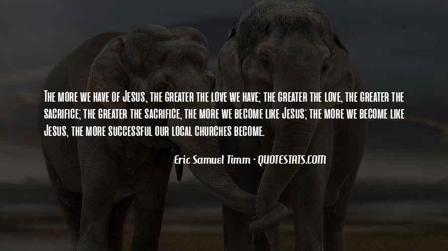Quotes About Jesus Sacrifice #1134395