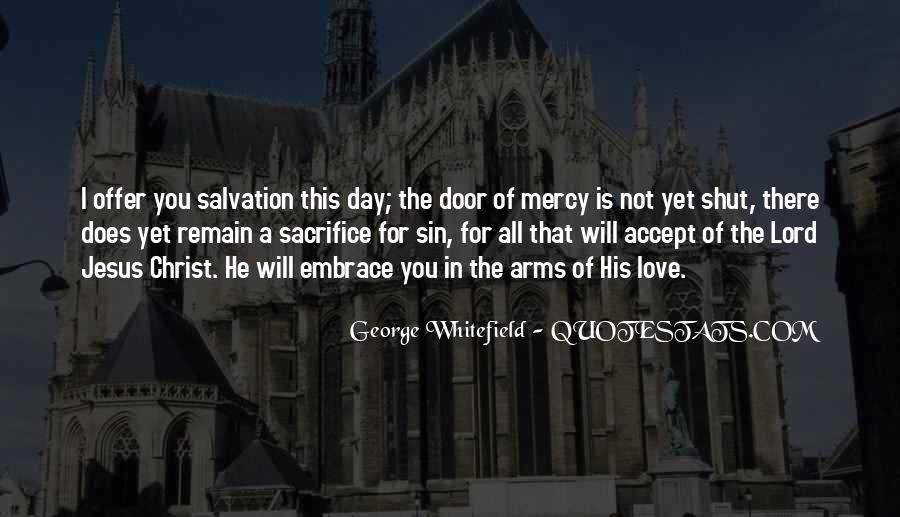 Quotes About Jesus Sacrifice #1134527