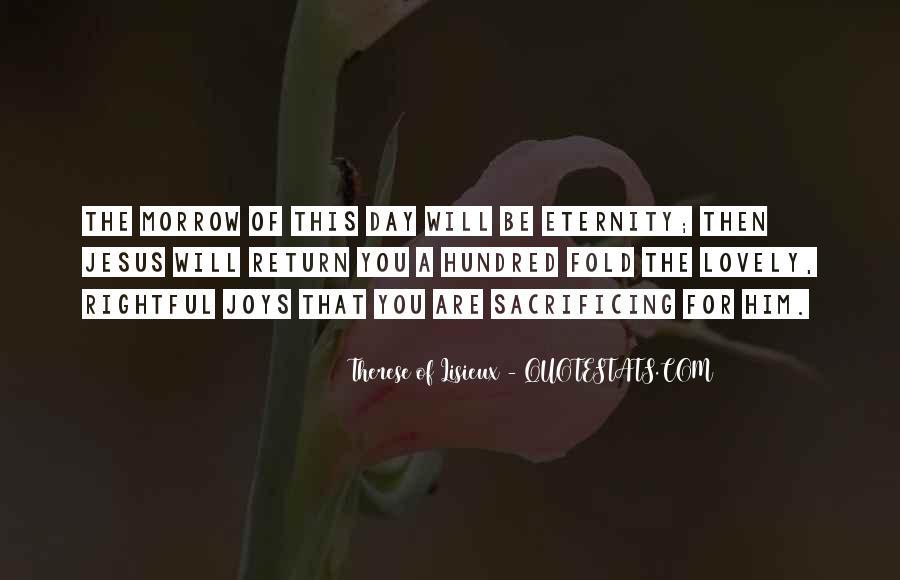 Quotes About Jesus Sacrifice #1147695