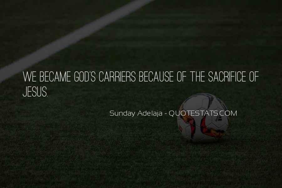 Quotes About Jesus Sacrifice #128581