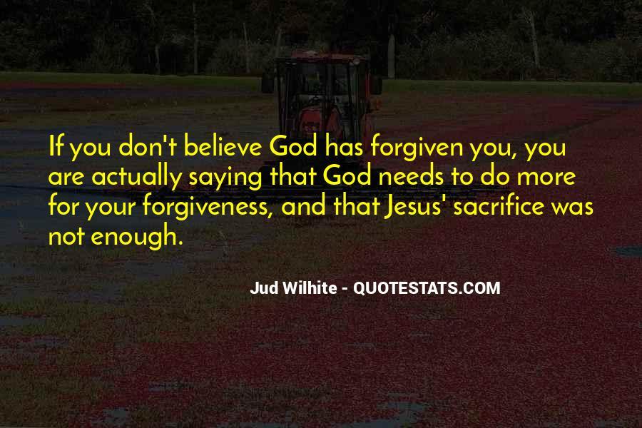 Quotes About Jesus Sacrifice #140554