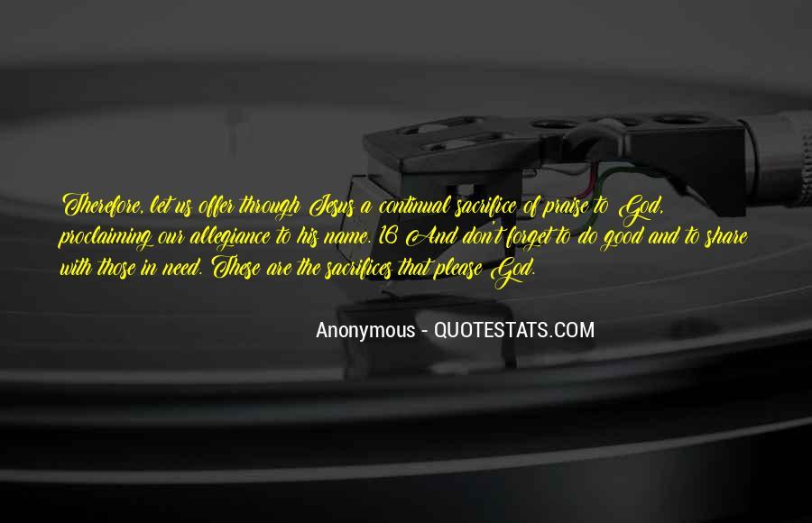 Quotes About Jesus Sacrifice #1423288