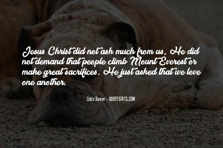 Quotes About Jesus Sacrifice #1453791