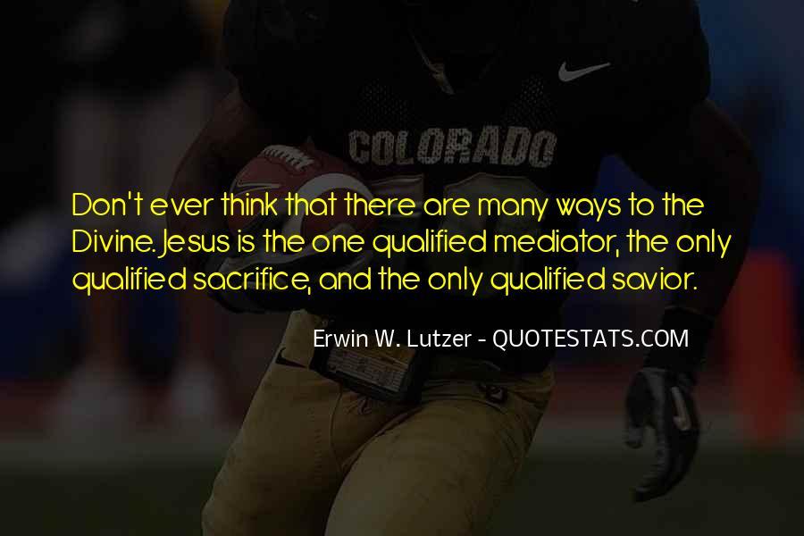 Quotes About Jesus Sacrifice #1556076