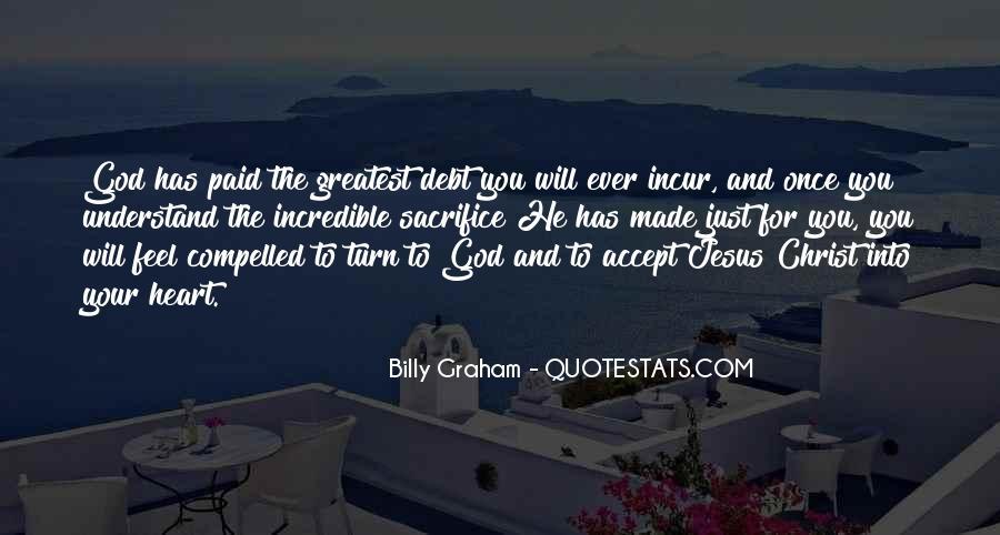 Quotes About Jesus Sacrifice #1593163