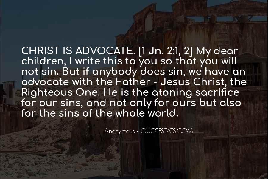 Quotes About Jesus Sacrifice #1691369
