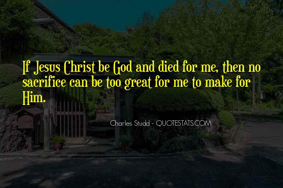 Quotes About Jesus Sacrifice #1706094