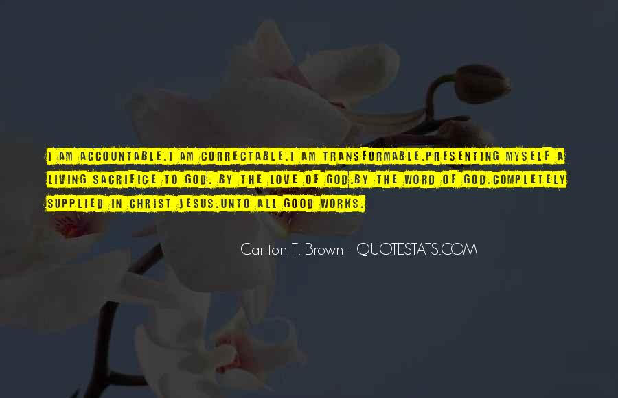 Quotes About Jesus Sacrifice #1790102
