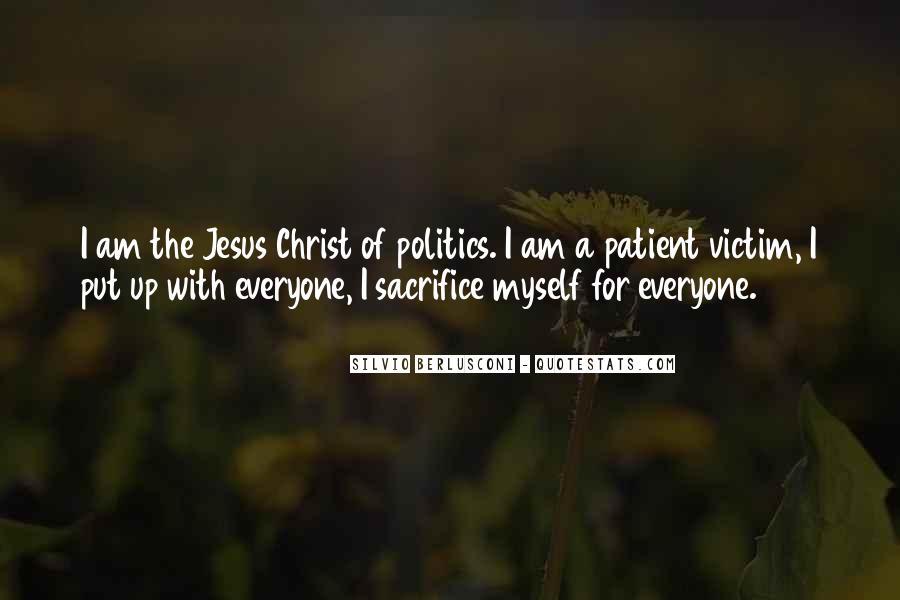 Quotes About Jesus Sacrifice #1877381