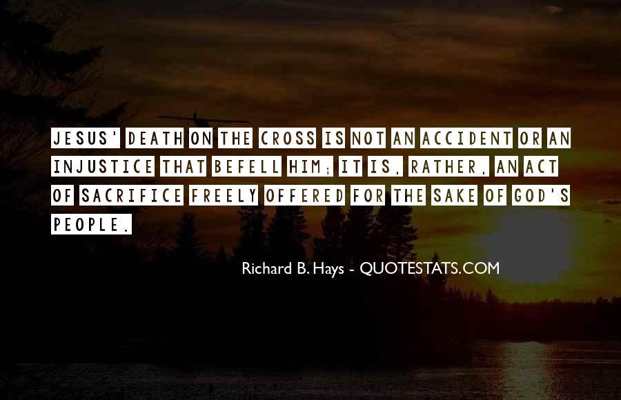 Quotes About Jesus Sacrifice #251517