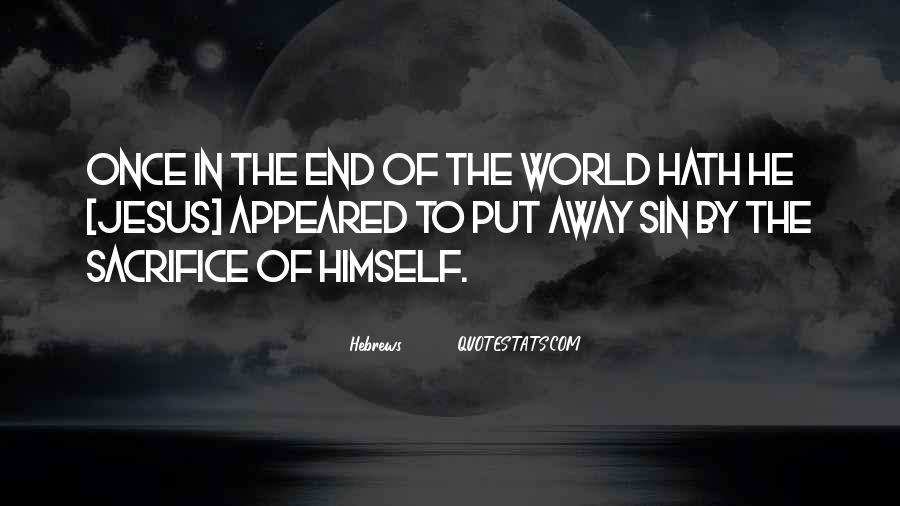 Quotes About Jesus Sacrifice #370523