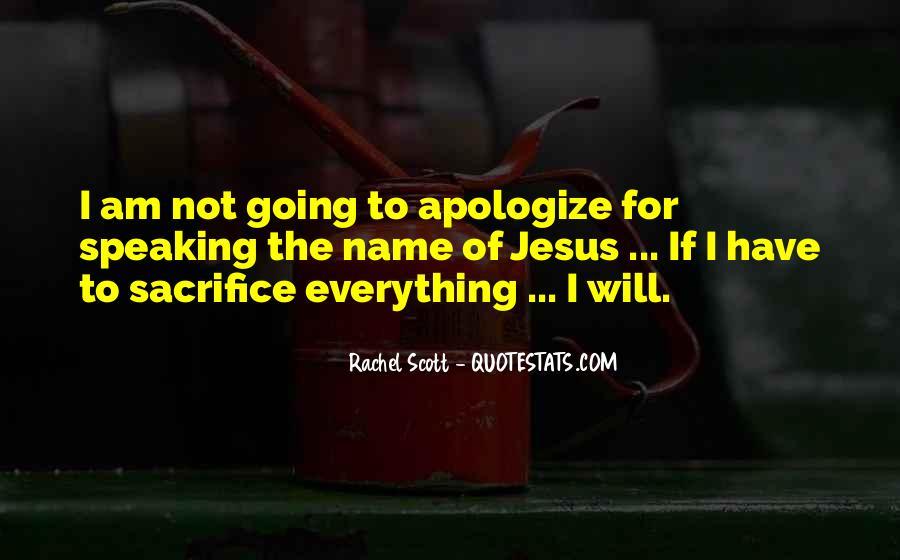 Quotes About Jesus Sacrifice #379454