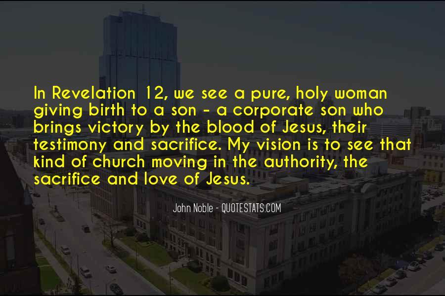 Quotes About Jesus Sacrifice #392048