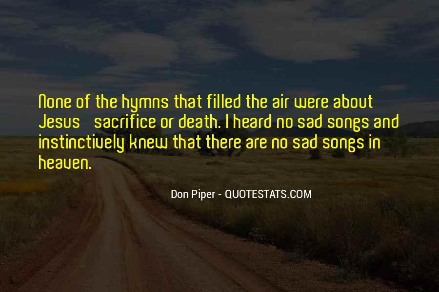Quotes About Jesus Sacrifice #649130