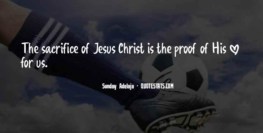 Quotes About Jesus Sacrifice #691205