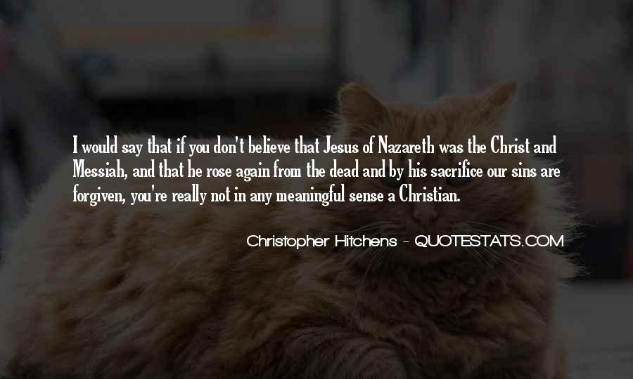 Quotes About Jesus Sacrifice #810907