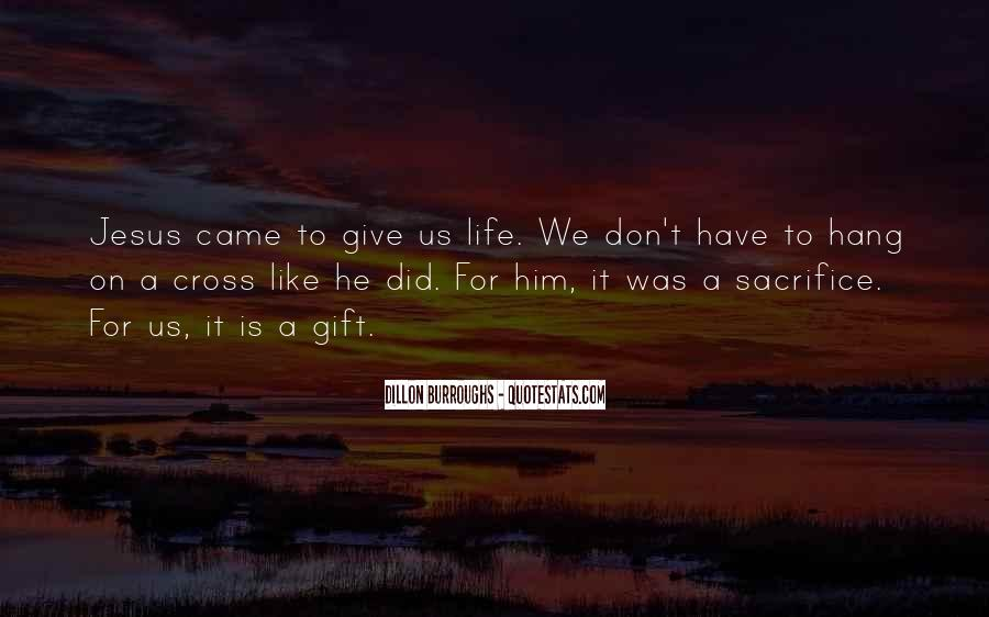 Quotes About Jesus Sacrifice #908997
