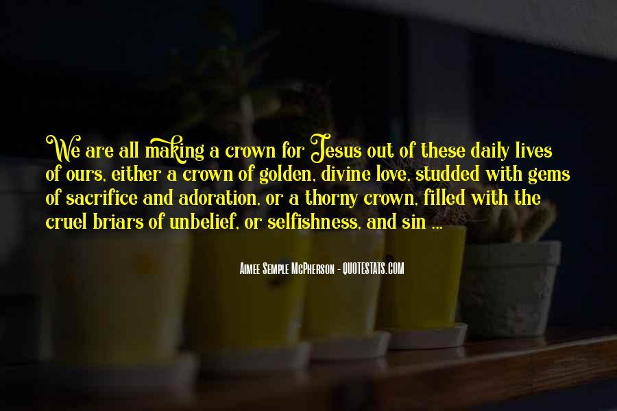 Quotes About Jesus Sacrifice #947174