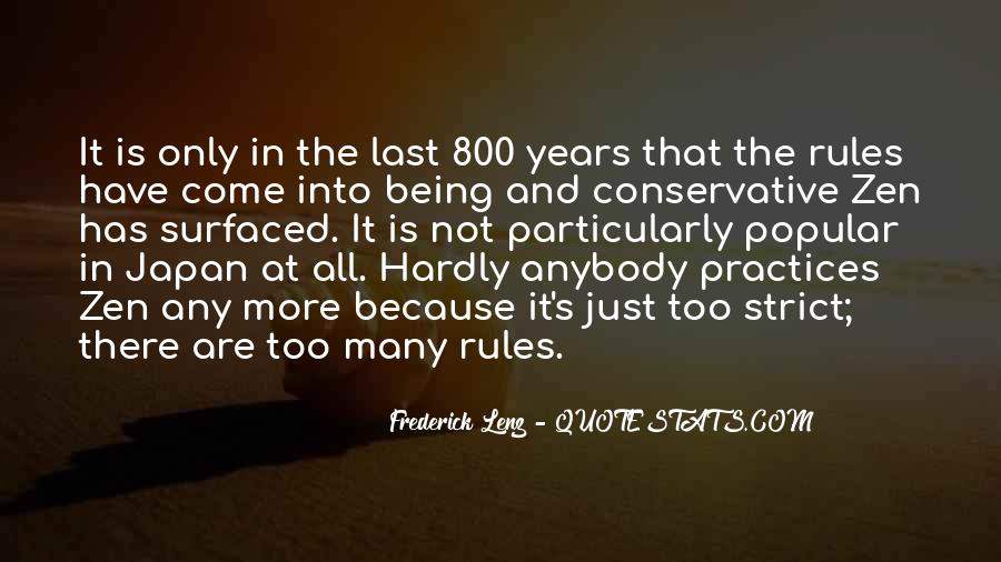 Quotes About Too Many Rules #1218867