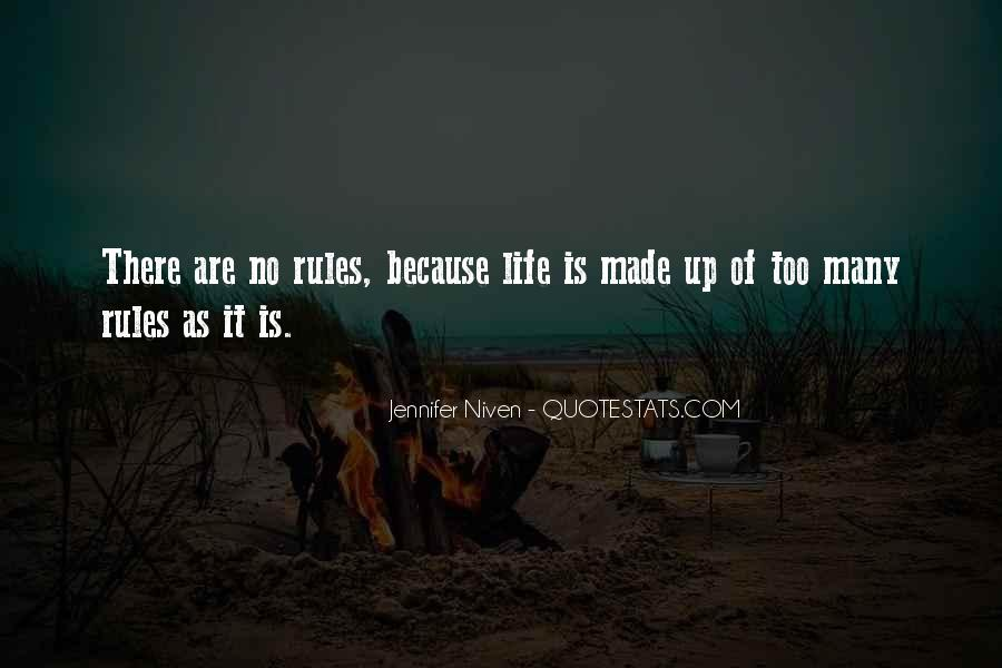 Quotes About Too Many Rules #1585633