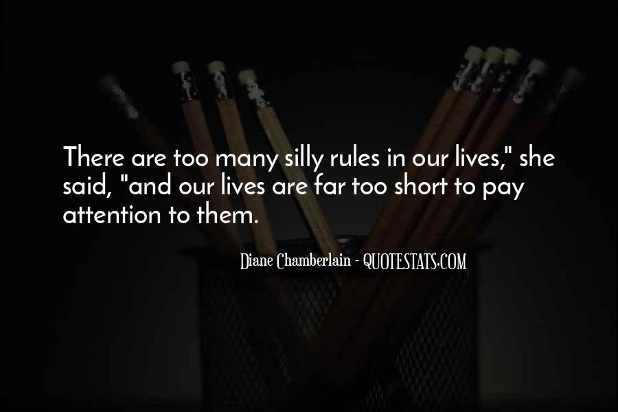 Quotes About Too Many Rules #290099