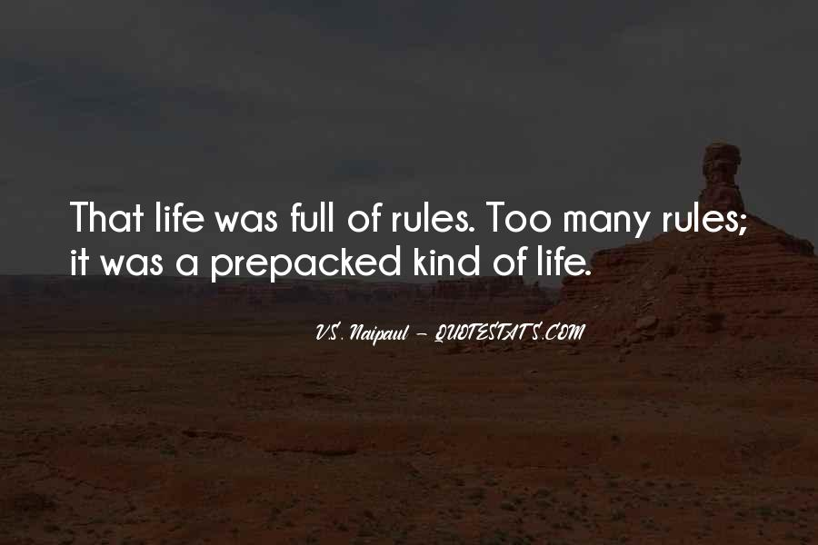 Quotes About Too Many Rules #525961