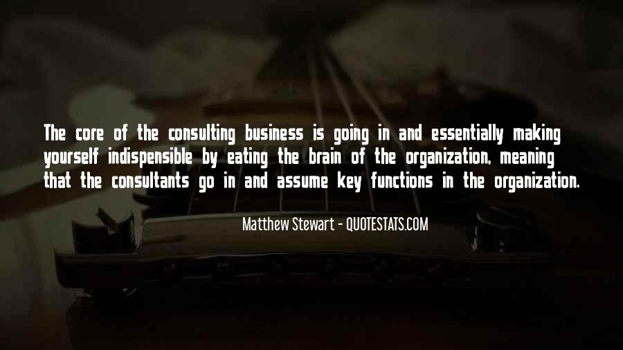 Quotes About Business Functions #1246941