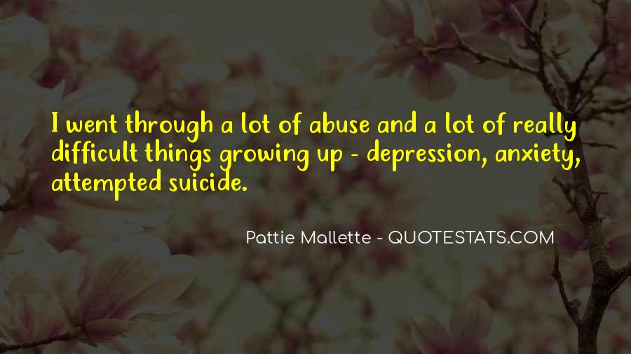 Top 100 Quotes About Depression And Anxiety: Famous Quotes ...