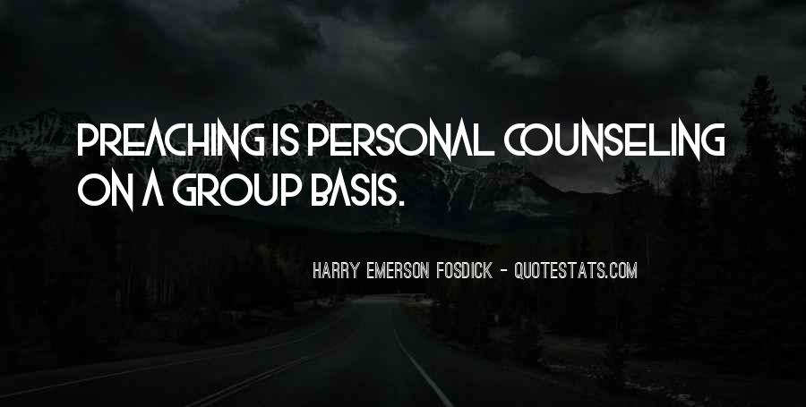 Quotes About Group Counseling #746093