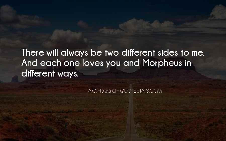 Quotes About Two Loves #1269978