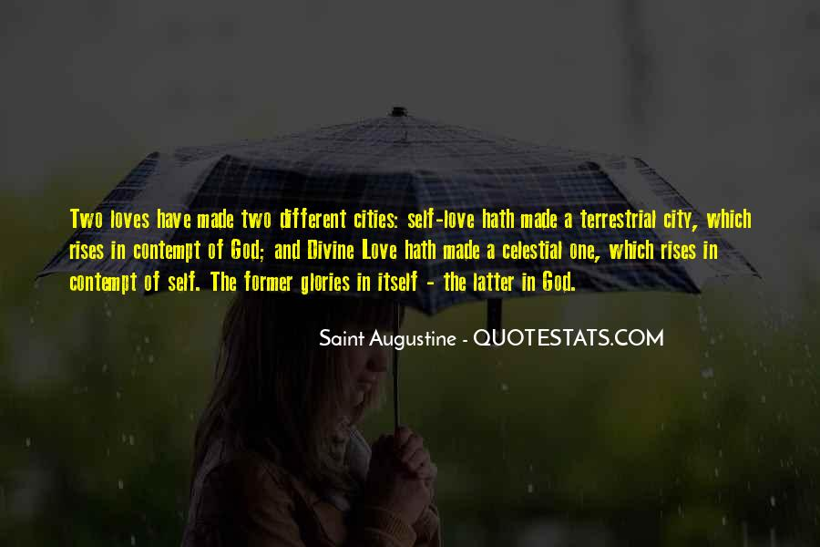 Quotes About Two Loves #132895