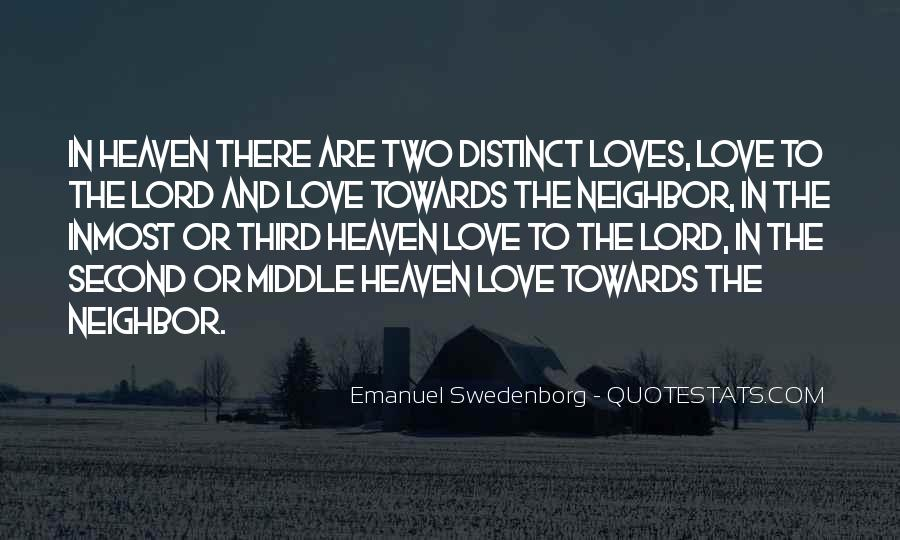 Quotes About Two Loves #1461286