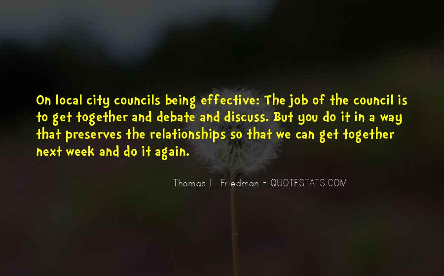 Quotes About City Council #1023900
