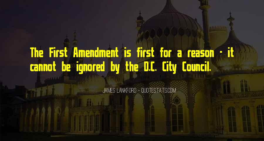 Quotes About City Council #1342538
