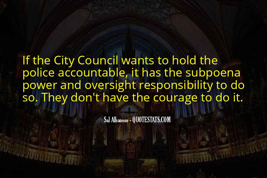 Quotes About City Council #1398488