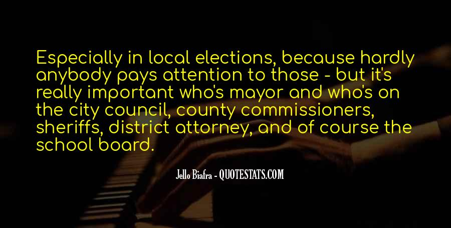 Quotes About City Council #1567254