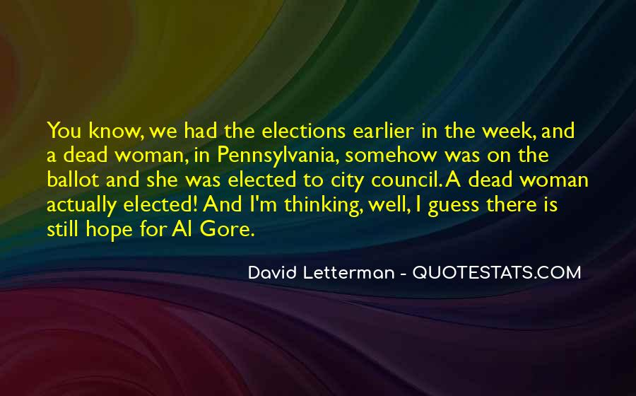 Quotes About City Council #863616