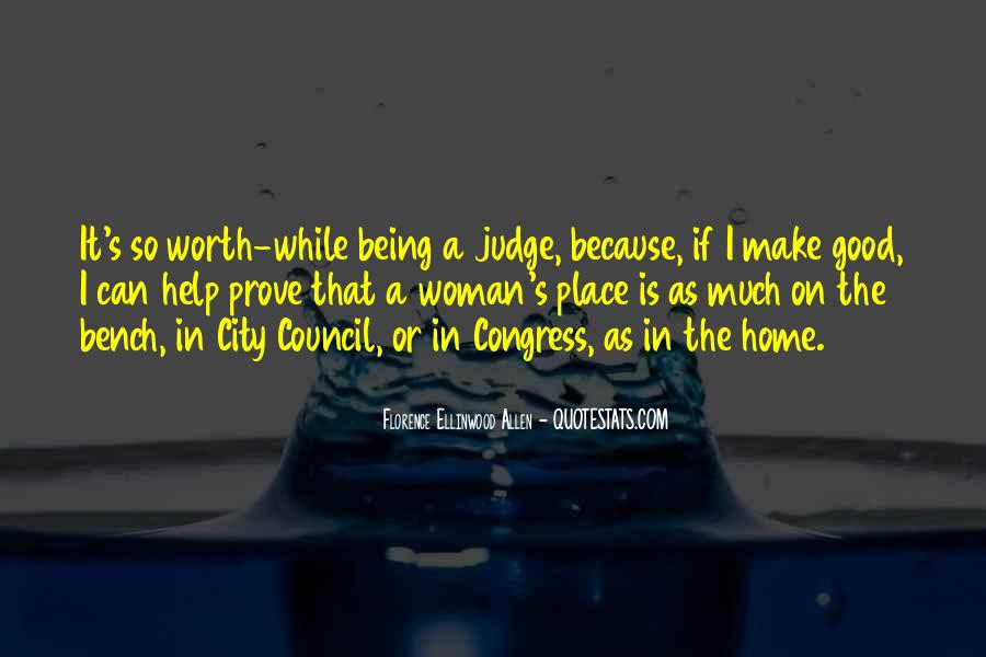 Quotes About City Council #889494
