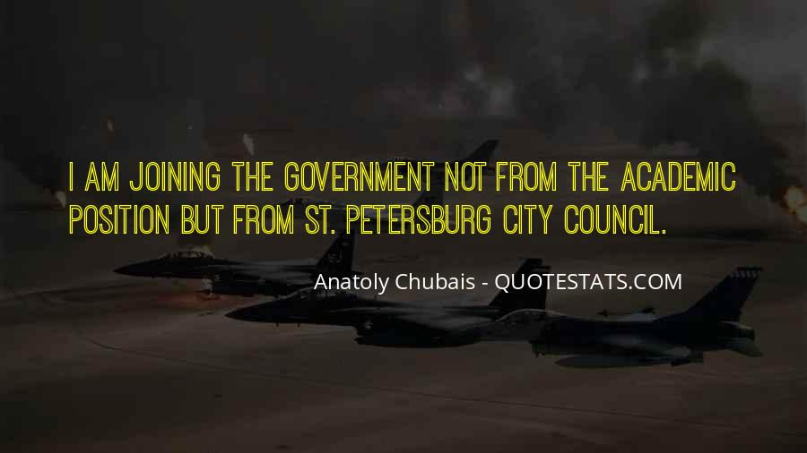 Quotes About City Council #974914